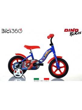 """Bicicletta Spiderman 10"""" bambino"""