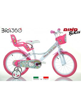 "Bicicletta Hello Kitty 2 - 16"" bambina"