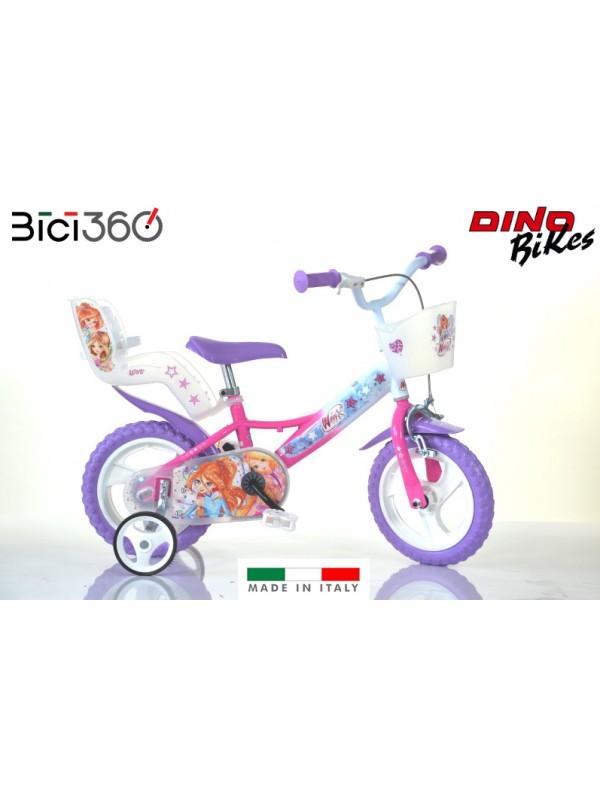 "Bicicletta Winx 12"" bambina"