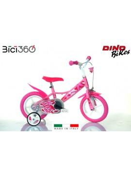 Bicicletta Peggy 12'' bambina - Dino Bikes