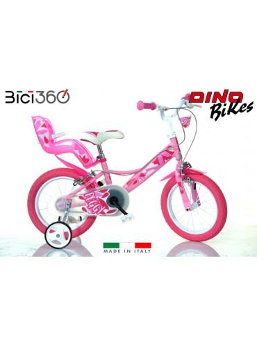 Bicicletta Peggy 14'' bambina - Dino Bikes