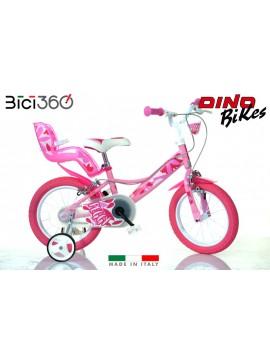 Bicicletta Peggy 16'' bambina - Dino Bikes
