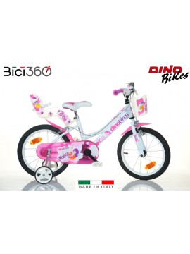 Nuova 166RSN-0502 bicicletta Dino Bikes bambina