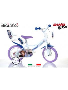 "Bicicletta Frozen 3 - 12"" bambina - Dino Bikes"