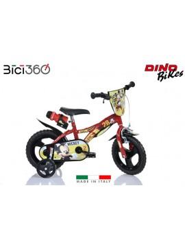 "Bicicletta Mickey Mouse - 12"" bambino"