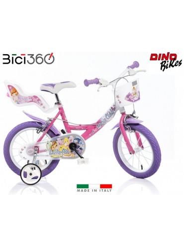 "Bicicletta Winx 14"" bambina"