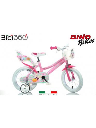 """Bicicletta Regal Academy 14"""" bambina"""