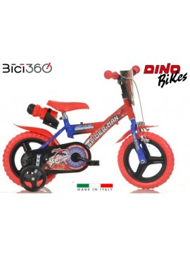"""Bicicletta Spiderman 12"""" bambino"""