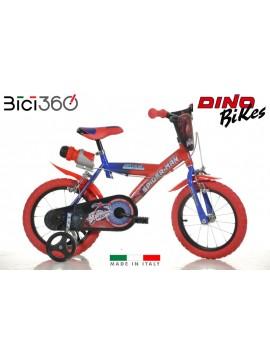 """Bicicletta Spiderman 16"""" bambino"""