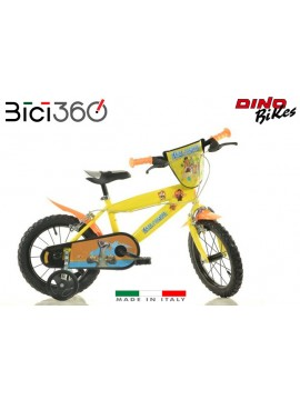 "Era Glaciale 14"" boy and girl bike - Dino Bikes"