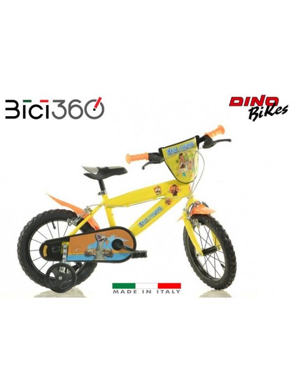 """Bicicletta Era Glaciale 14"""" bambina/bambino"""