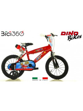 "Bicicletta Super Wings 14"" bambino"