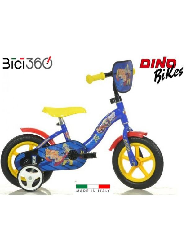 """Bicicletta Sam il pompiere 10"""" bambino"""