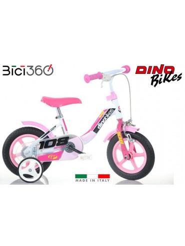 Bicicletta 108FL Sport - Colore Rosa