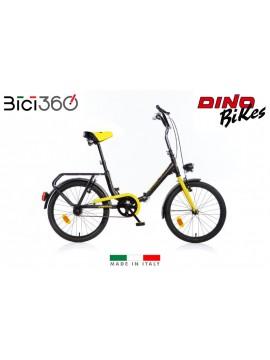 Bicicletta Folding 321 - Colore Nero / Giallo