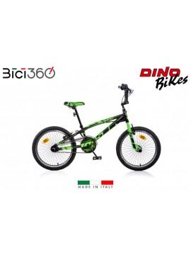 Bicicletta Freestyle 346S - Colore Nero / Verde