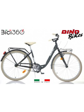 Bicicletta City Bike 1026CY - Colore Nero