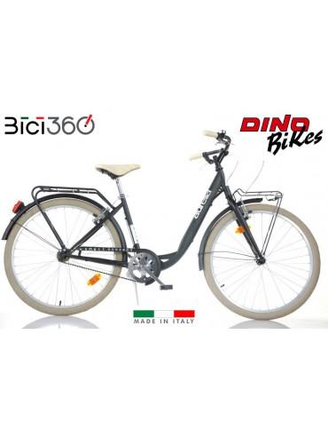 Bicicletta City Bike 1026CY - Colore Nero