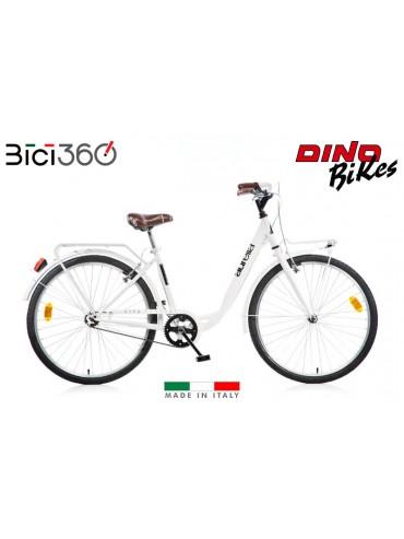 Bicicletta City Bike 1026CY - Colore Bianco