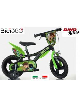"""Bicicletta Ben 10 12"""" bambino"""