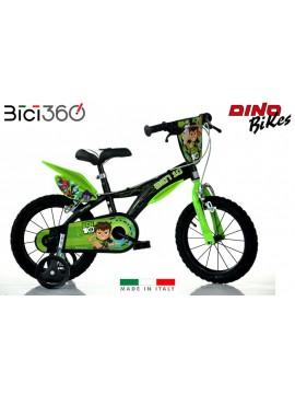 """Bicicletta Ben 10 16"""" bambino"""