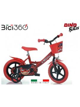 "Bicicletta Miraculous 12"" bambina"