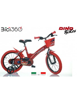 "Bicicletta Miraculous 16"" bambina"