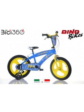 """Bicicletta Cattivissimo Me 3 Minions 16"""" bambino/a"""