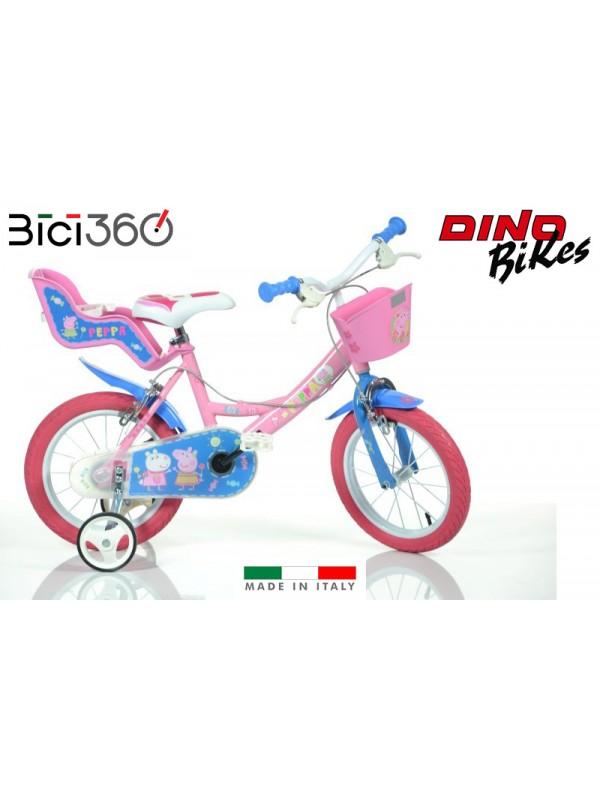 "Bicicletta PEPPA PIG bambina 14"""