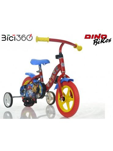 "Bicicletta PAW PATROL 10"" bambino/bambina"