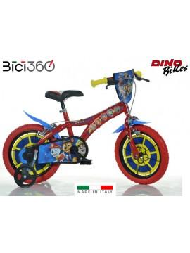"Bicicletta PAW PATROL 14"" bambino/bambina"
