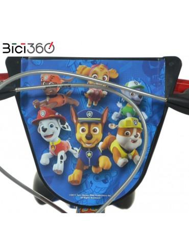 "Bicicletta PAW PATROL 14"" bambino/bambina - Manubrio"