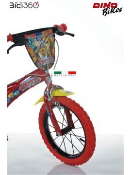 "Bicicletta Gormiti 14"" bambino"