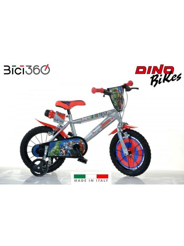 "Bicicletta Avengers 2 14"" bambino"