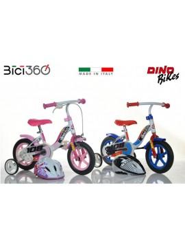 Bicicletta Bimbo e Bimba 10''