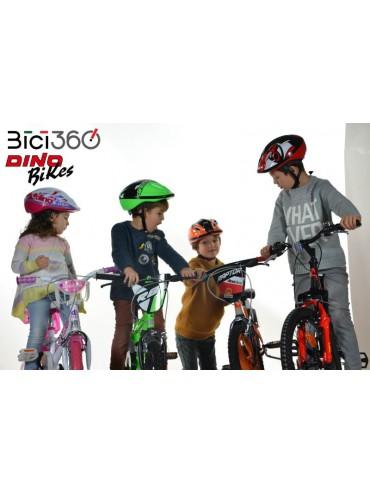 CascoDAA abbinato alla linea LITTLE HEART - Dino Bikes