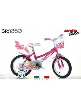 Bicicletta 166R-02 Flappy bambina