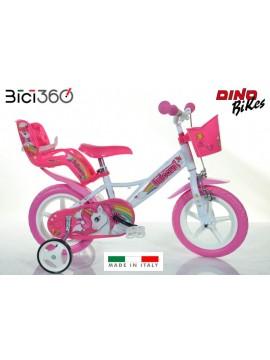 Bicicletta bambina 12'' Unicorno