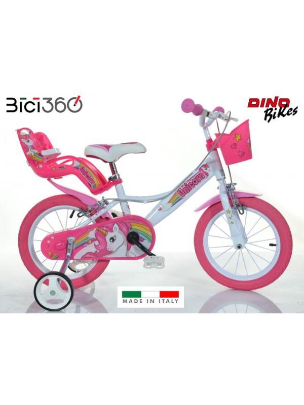 Bicicletta Unicorno 16 Bambina