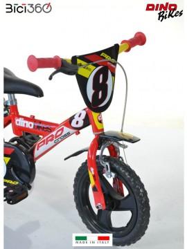 123GLN 12'' PROCROSS boy bike - Dino Bikes
