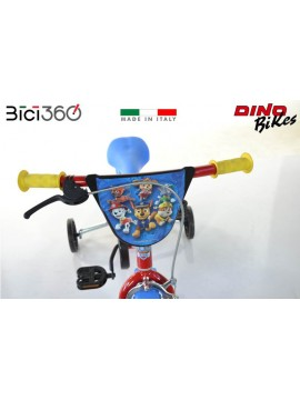 "Bicicletta PAW PATROL 12"" bambino/bambina"