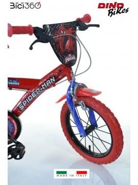 Bicicletta Spiderman 16 Bambino