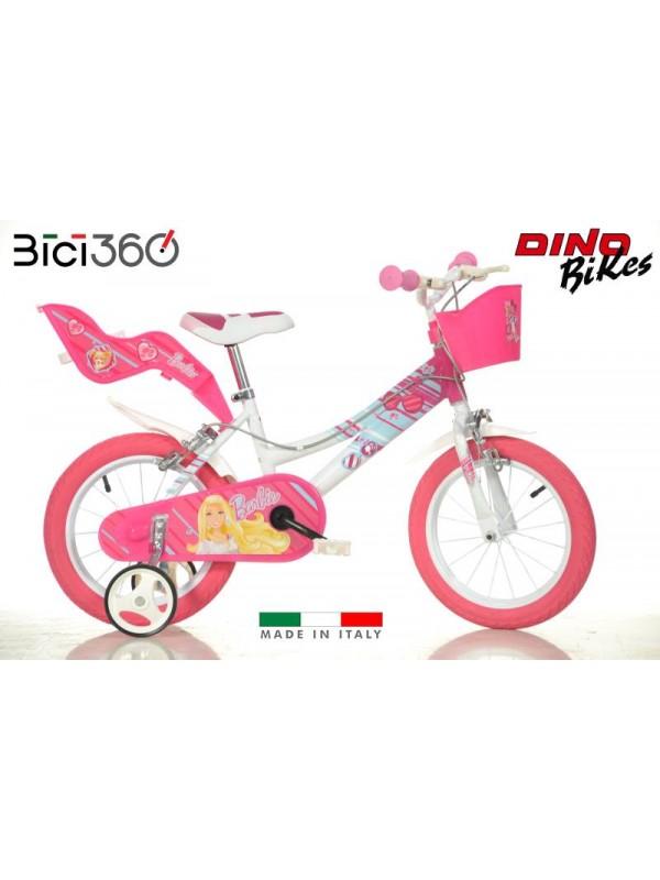 "Bicicletta Barbie OFFERTA 16"" bambina"