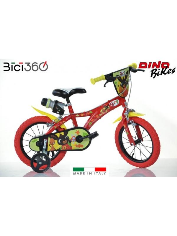 "Bicicletta Bing 14"" bambino/bambina"