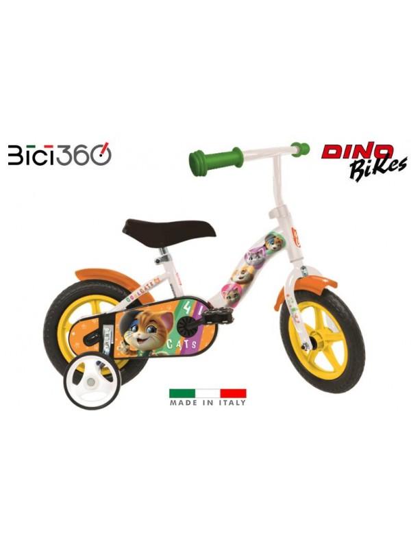 "Bicicletta 44 GATTI 10"" bambino/bambina"