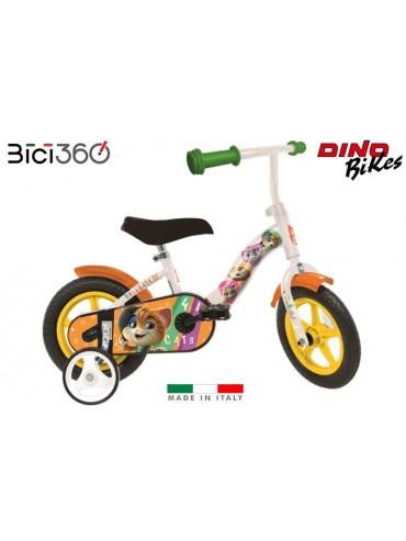 Bicicletta 44 Gatti 10'' bambino/bambina