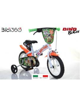 "Bicicletta 44 GATTI 12"" bambino/bambina"