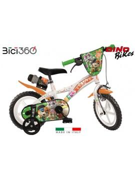 "Bicicletta 44GATTI 12"" bambino/bambina"