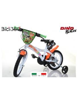 "Bicicletta 44 GATTI 14"" bambino/bambina"