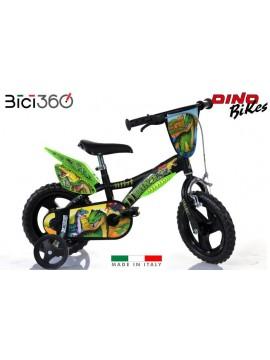 "Bicicletta Dinosaurs 12"" bambino"